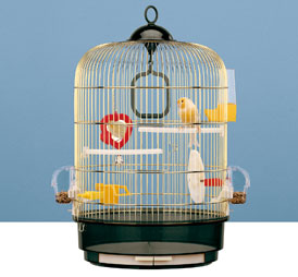 Ferplast клетка за птици Cage Regina Brass