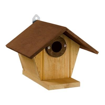 Ferplast Natura N3 дървена къщичка за диви птички