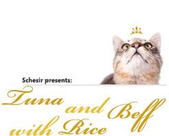 Schesir Cat Natural Tuna and Beef with Rice риба тон и говеждо с ориз в собствен сос за котки 85гр