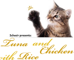 Schesir Cat Natural Tuna and Chicken with Rice риба тон и пиле с ориз в собствен сос за котки 85гр