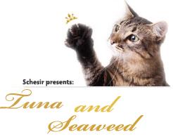 Schesir Cat Tuna with Seaweed парченца в желе 85гр с риба тон и морска трева за котки