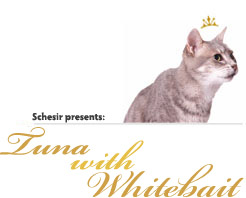 Schesir Cat Tuna with Whitebait парченца в желе 85гр с риба тон и атерина за котки