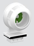 AAG Stucchi влагозащитена фасунга за T8 луминисцентна лампа за монтаж 1783/26