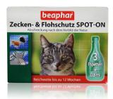 Beaphar Zecken Flohschtz Spot-on БИО репелентни капки за котка