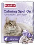 Beaphar Calming Spot On for cats - 3 броя успокояващи пипети за котки