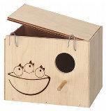 Ferplast Nido Nest Large - голяма дървена къщичка