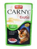 Animonda Carny Cat Exotic пауч пълноценна храна за израстнали котки с месо от щраус